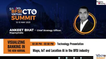 Ankeet Bhat, Chief Strategy Officer, MapmyIndia
